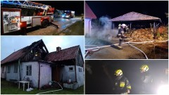Tydzień pod znakiem pożarów – weekendowy raport malborskich służb mundurowych.