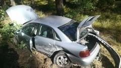 Powiat sztumski. Nie ustąpił pierwszeństwa i spowodował wypadek.