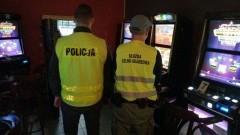 Malbork. Zabezpieczono 16 nielegalnych automatów do gier hazardowych.