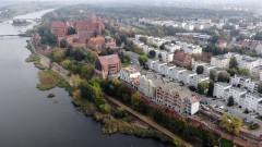 Budowa kamienic na Starym Mieście w Malborku - październik 2020 [foto, wideo]