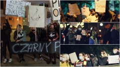 Protest kobiet w Nowym Dworze Gdańskim i Sztumie.