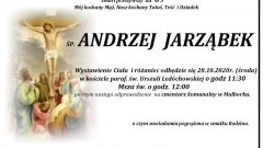 Zmarł Andrzej Jarząbek. Żył 69 lat.