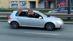 Uwaga, kierowcy! Czarna Jazda – Mamy Dość! dzisiaj na ulicach Malborka. Kolejny dzień protestów po decyzji Trybunału Konstytucyjnego w sprawie aborcji