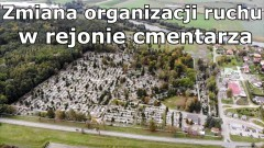 Malbork. Zmiana organizacji ruchu w rejonie cmentarza komunalnego.
