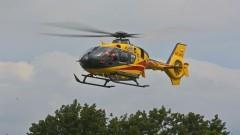 LPR zabrał poszkodowanego w wypadku drogowym – raport nowodworskich służb mundurowych.