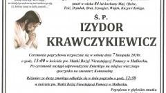 Zmarł Izydor Krawczykiewicz. Żył 84 lata.