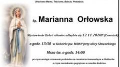 Zmarła Marianna Orłowska. Żyła 91 lat.