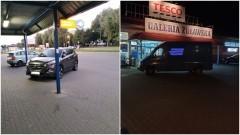 Mistrzowie (nie tylko) parkowania na Warszawskiej w Nowym Dworze Gdańskim.
