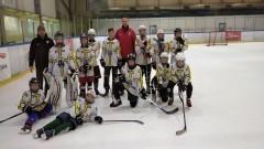 Hokej. Porażka najmłodszej drużyny UKS Bombek w rozgrywkach KPOZHL.