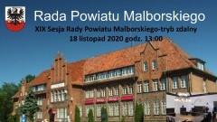 Zobacz na żywo obrady XIX sesji Rady Powiatu Malborskiego.