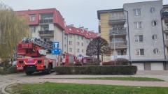 Malbork. Zadymienie w mieszkaniu na Kotarbińskiego.