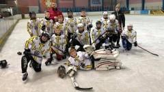 Hokej. Kolejny sukces najmłodszych zawodników UKS Bombek.