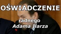 Oświadczenie radnego, Adama Ilarza w sprawie zdjęć Donalda Tuska na profilu FB.