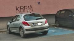Mistrz (nie tylko) parkowania na Jasnej w Malborku.