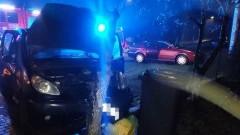 Niedostosowanie prędkości przyczyną wypadku w Cygusach - raport sztumskich służb mundurowych.
