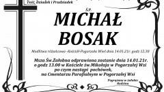 Zmarł Michał Bosak. Żył 82 lata.