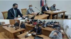 Jak wygląda sytuacja szczepień przeciw COVID-19 w Nowym Stawie - Burmistrz Jerzy Szałach odpowiada. XXXIII sesja Rady Miejskiej - 02.02.2021