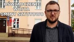 Sztutowo. Oświadczenie wójta Roberta Zielińskiego.