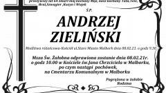 Zmarł Andrzej Zieliński. Żył 64 lata.