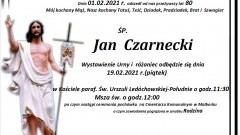 Zmarł Jan Czarnecki. Żył 80 lat.