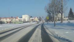 Uważajcie, jest bardzo ślisko na drogach.