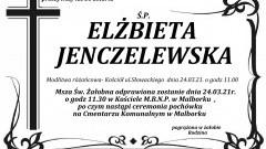 Zmarła Elżbieta Jenczelewska. Żyła 51 lat.