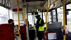 Malbork. Autobusy pod lupą policjantów i sanepidu.