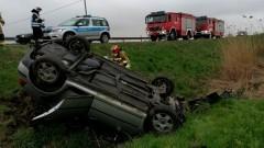 Dwa groźne wypadki na drogach powiatu – weekendowy raport malborskich służb mundurowych.