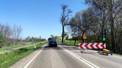 DK55. Trwa remont drogi na odcinku Malbork – Tragamin.