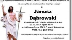Zmarł Janusz Dąbrowski. Żył 59 lat.