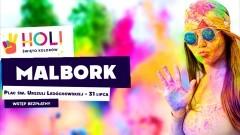 Malbork. Weź udział w kolorowym szaleństwie - Święto Kolorów Holi już w najbliższą sobotę.