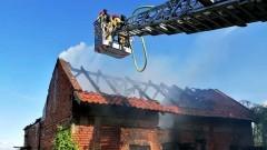 Pożary i podsumowanie policyjnych działań – weekendowy raport malborskich służb mundurowych.