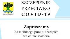 Gmina Malbork. Spisz się i zaszczep w mobilnym punkcie w Lasowicach Wielkich.