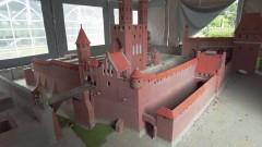 Nowa miniatura zamku krzyżackiego w Malborku – zobacz, jak powstaje.