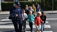 Malbork. Bezpieczna droga do szkoły – policyjna akcja dla najmłodszych.