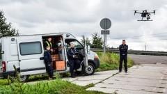 Elbląg: Policyjny dron i niebezpieczne wykroczenia drogowe. Zobacz wideo!