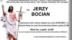 Zmarł Jerzy Bocian. Żył 89 lat.