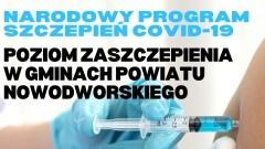 Krynica Morska z największą liczbą osób zaszczepionych w powiecie nowodworskim.
