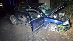 Tczew. Po zderzeniu auta z drzewem śmierć poniosła kobieta.