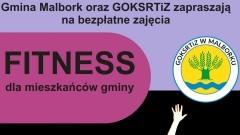 Gmina Malbork. Bezpłatne zajęcia fitness dla mieszkańców.