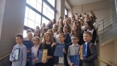 70 uczniów malborskich szkół otrzymało wyróżnienia oraz stypendia naukowe z rąk burmistrza miasta – 07.03.2016