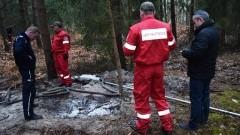 Mierzeja Wiślana. Bursztyniarze zdołali uciec, ale został sprzęt – 30.03.2016