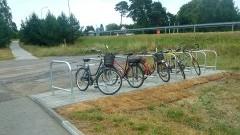 Kolej na rower – nowe stojaki na 300 stacjach i przystankach PLK - 08.04.2016