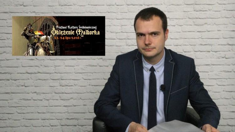 Zapraszamy na Oblężenie. Inscenizacja wraca na wały. Info Tygodnik. Malbork - Sztum - Nowy Dwór Gdański – 15.07.2016