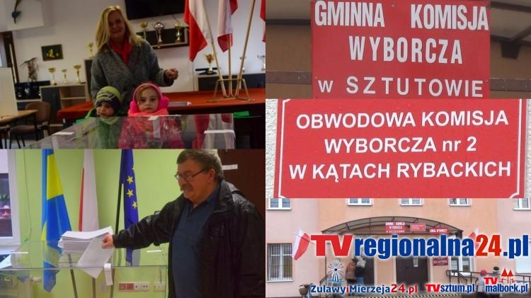 Gmina Sztutowo głosuje! Trwają wybory Wójta – 23.10.2016