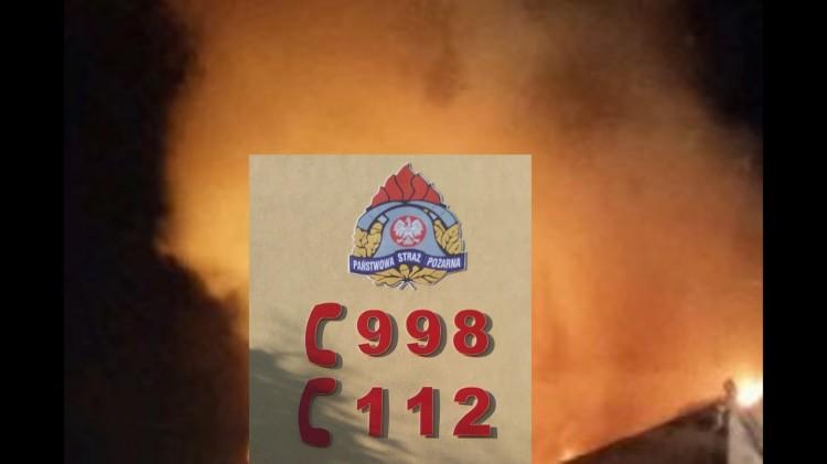 SZTUM: Podpalenie przyczyną wybuchu ognia przy ul. Chopina? Poważnie poparzony 38-latek - 28.12.2016