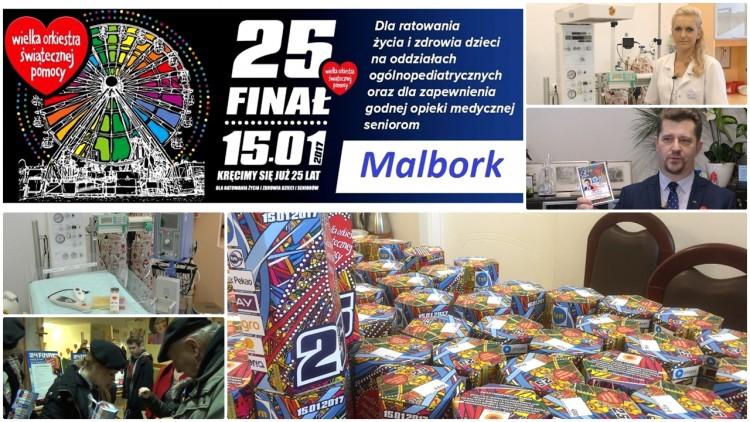 Malbork gra z WOŚP od 1996 roku. Wartość sprzętu w szpitalu jest imponująca. Zobacz Malborskie Aukcje Allegro oraz co przygotowano na niedzielny finał – 15.01.2017