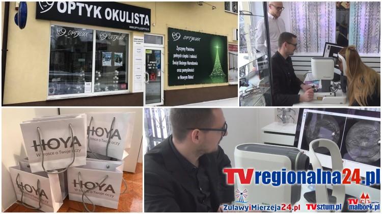 Nowy Dwór Gd. Trwają Dni Otwarte z firmą Hoya w salonie Optylux przy ul. Morskiej - 09.01.2017