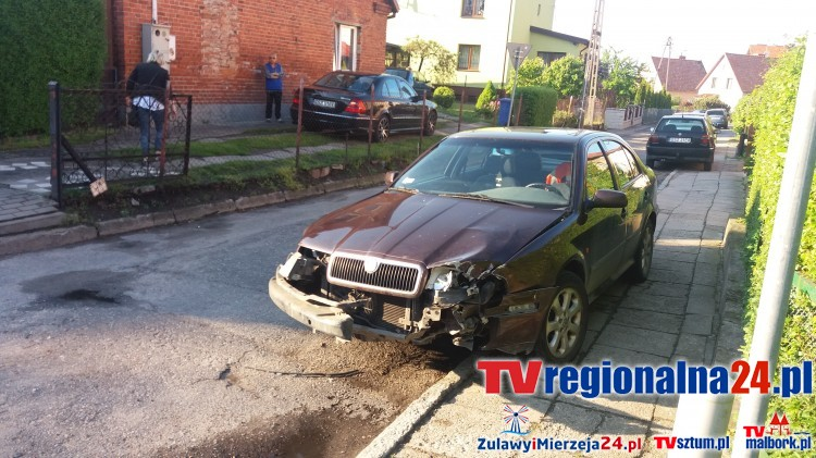 Sztum: Kraksa dwóch aut na skrzyżowaniu. Nieuwaga czy próba wymuszenia pierwszeństwa? - 24.05.2017