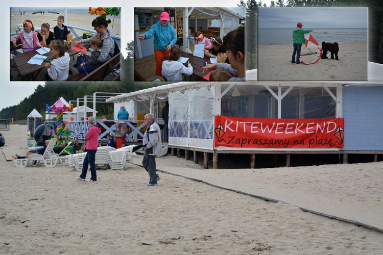Kąty Rybackie: Latawce na plaży - 10.09.2017